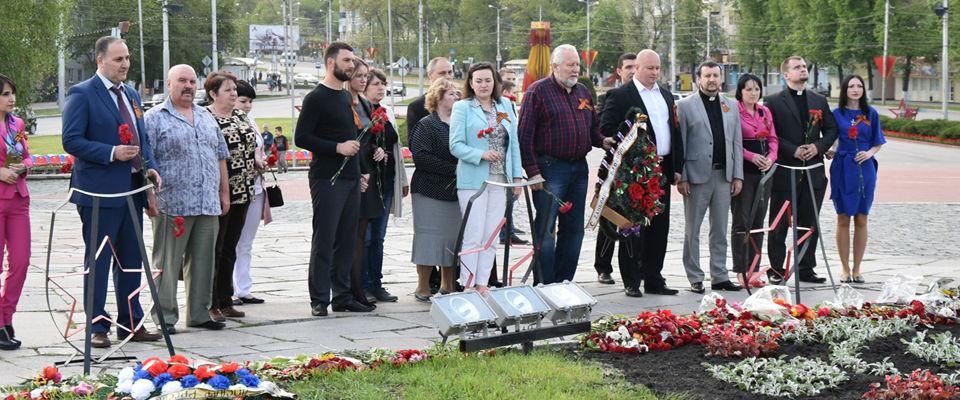 День Победы: епископ Сергей Ряховский и пензенские протестанты почтили героев
