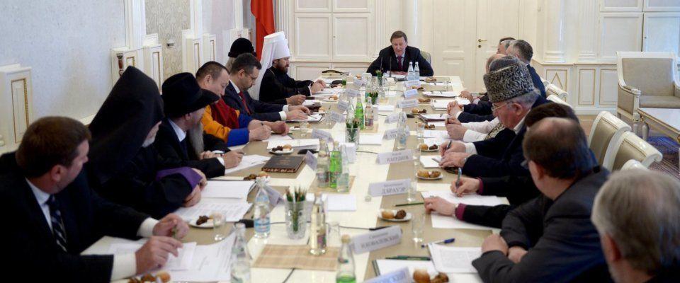 Епископ Сергей Ряховский принял участие в заседании президентского Совета
