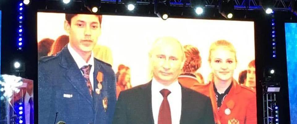 Олимпийские чемпионы объявили о помолвке на христианской конференции в Ростове