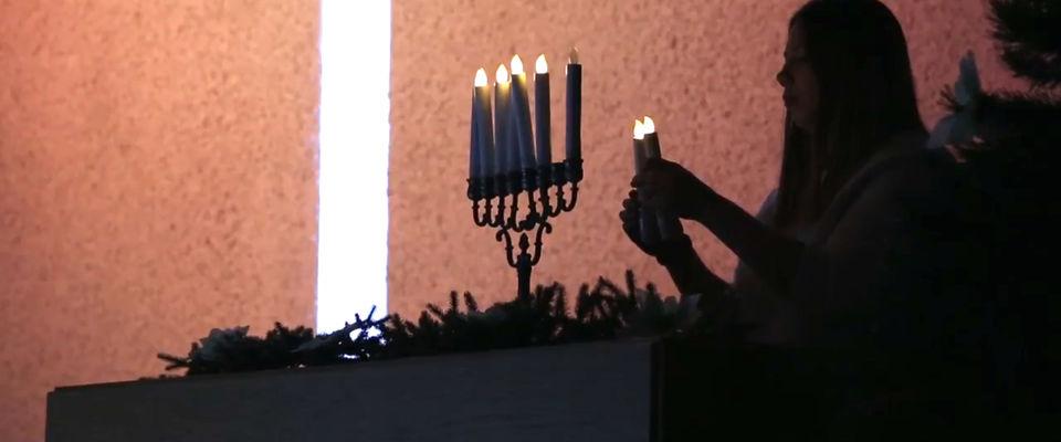 Межцерковное служение «Молитва за Израиль» отпраздновало Хануку