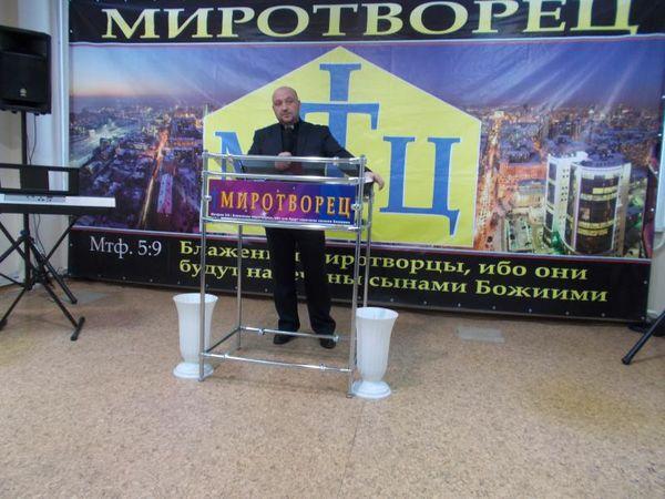В новосибирской церкви «Миротворец» отпраздновали Рождество