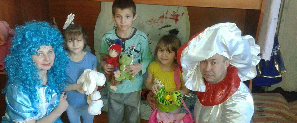 500 «Даров от сердца» вручили христиане детям и инвалидам Амурской области