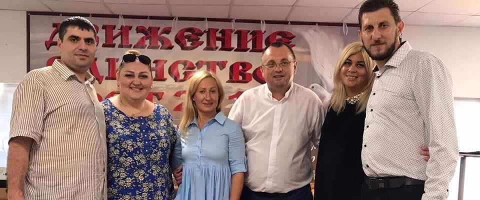 Епископ Гарик Кургинян был спикером поста Движения «Единство» в Сочи, объединившем верующих из 46 городов России