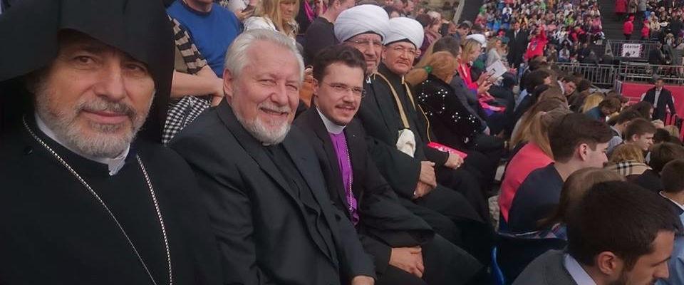 Епископ Сергей Ряховский посетил открытие празднования 870-летия Москвы