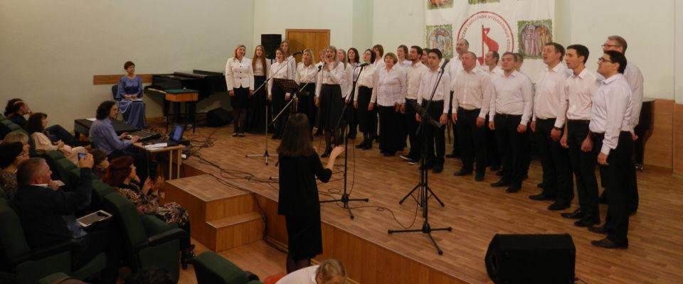 Владимирские евангельские церкви участвовали в областном фестивале духовных песнопений