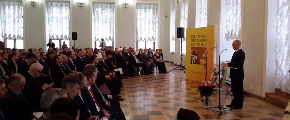 Сергей Кириенко: протестанты - неотъемлемая часть религиозного сообщества РФ