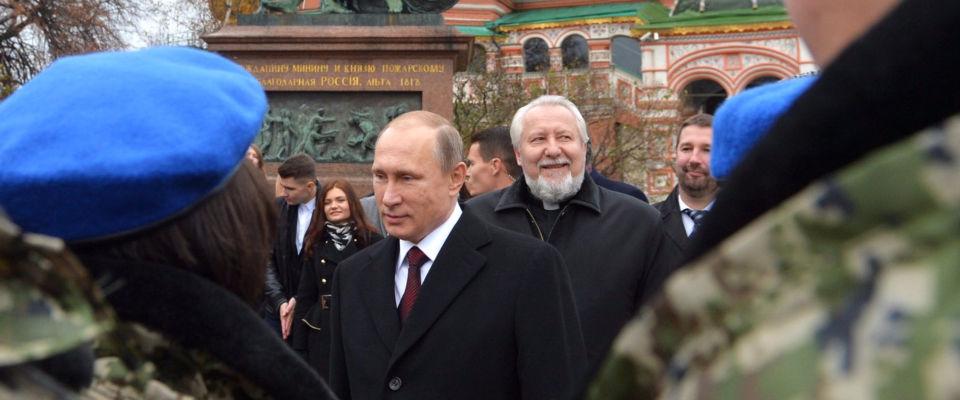 Епископ Сергей Ряховский поздравил Президента России с Днем народного единства