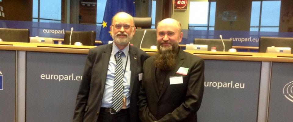 В Брюсселе епископ Альберт Раткин посетил Европарламент и Еврокомиссию