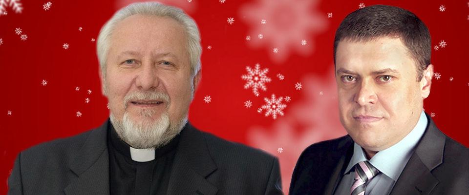 Совместное поздравление епископов Сергея Ряховского и Эдуарда Грабовенко