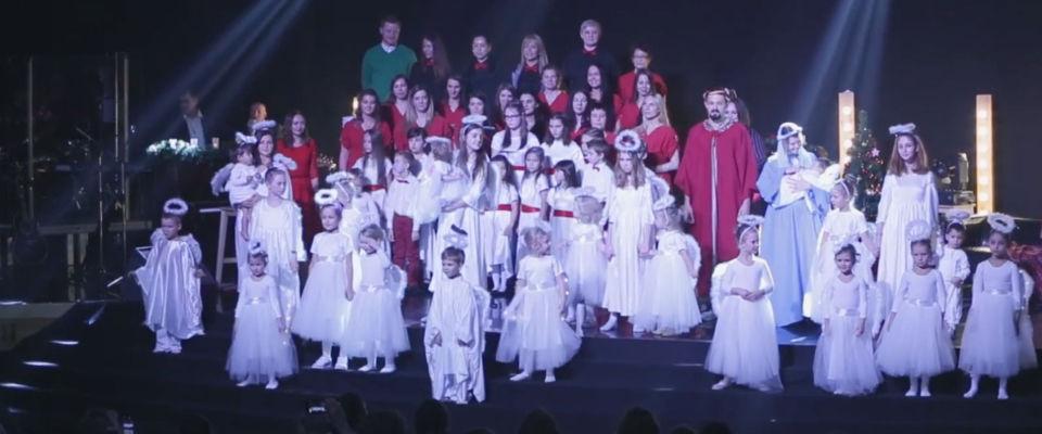 В московской церкви «Слово жизни» прошёл Большой Рождественский концерт