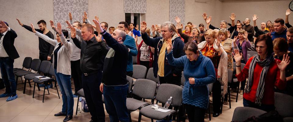 В Самаре прошло межцерковное молитвенное служение