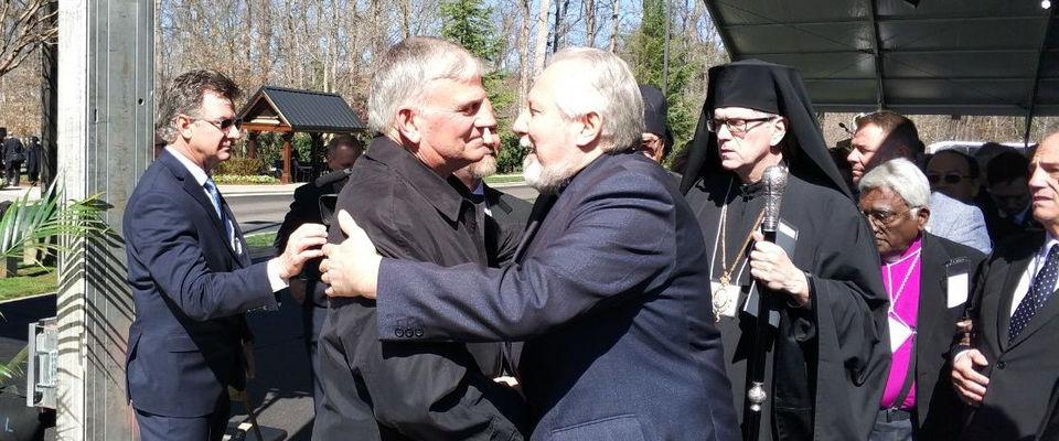 Епископ Сергей Ряховский принял участие в церемонии похорон Билли Грэма