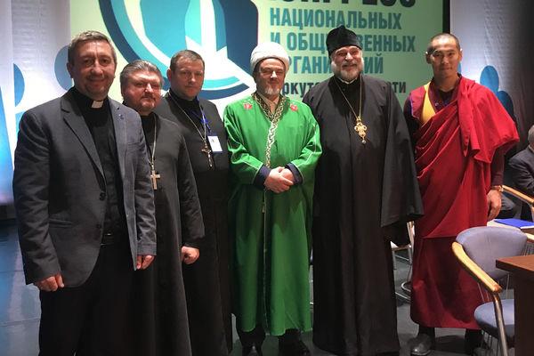 Пастор Дмитрий Маслак принял участие в заседании Конгресса национальных организаций в Иркутске
