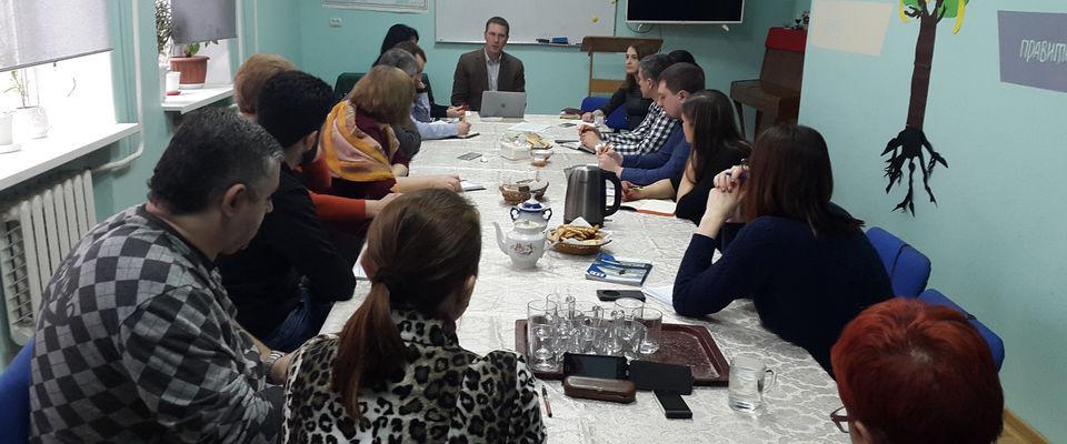 Глава юридического департамента РОСХВЕ провел круглый стол в Ростове-на-Дону