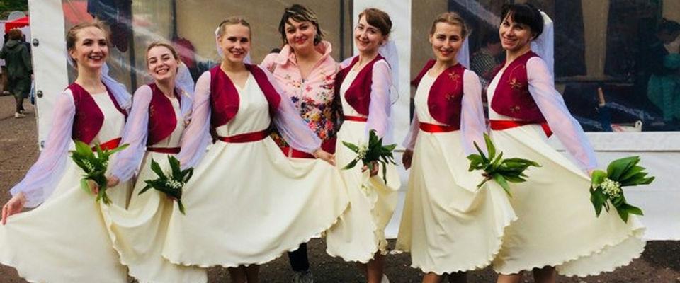 Танцевальная команда кировской церкви «Слово Истины» выступила на городском юбилее