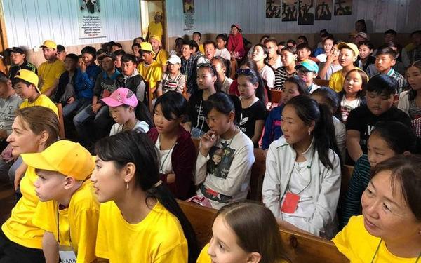 Российские миссионеры провели детскую евангелизацию в Монголии