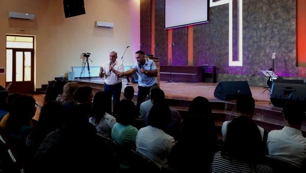 Епископ Михаил Дарбинян принял участие в конференции в Ванадзоре