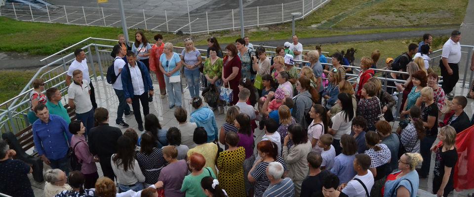 Верующие 12-ти церквей Барнаула молились о процветании родного края