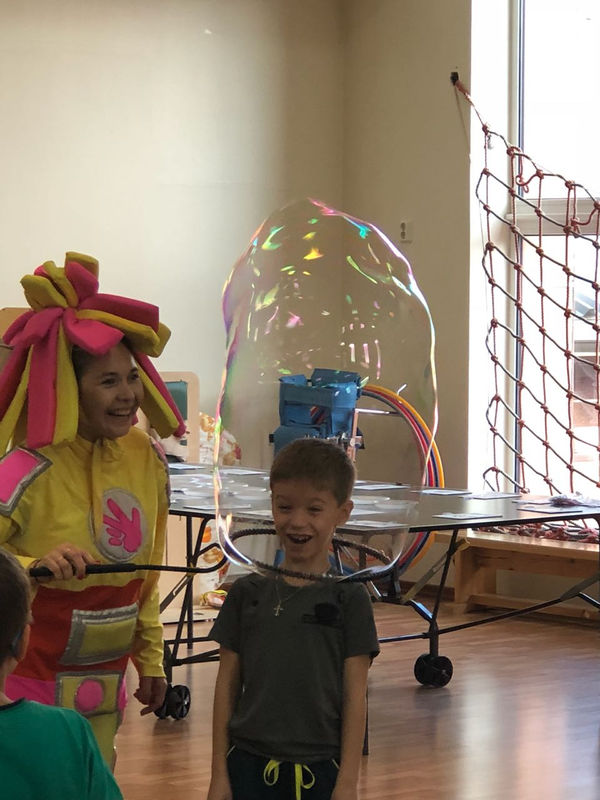 В день благотворительности христиане Когалыма устроили праздник для детей-инвалидов