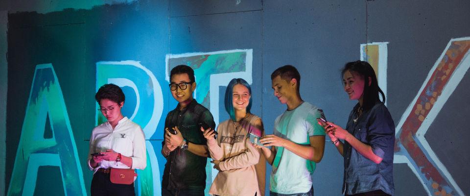 В Улан-Удэ прошел юбилейный творческий молодежный вечер «ART-Кофе»