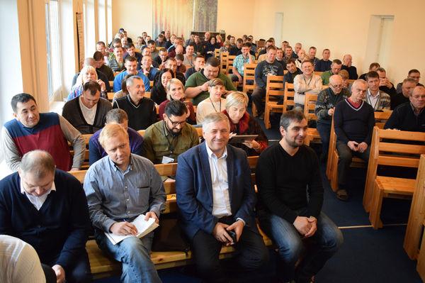 Конференция тюремного служения в Подмосковье собрала более ста человек