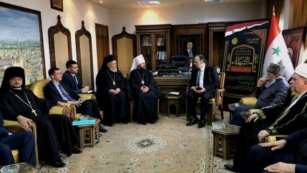 Епископ Сергей Ряховский снова в Сирии
