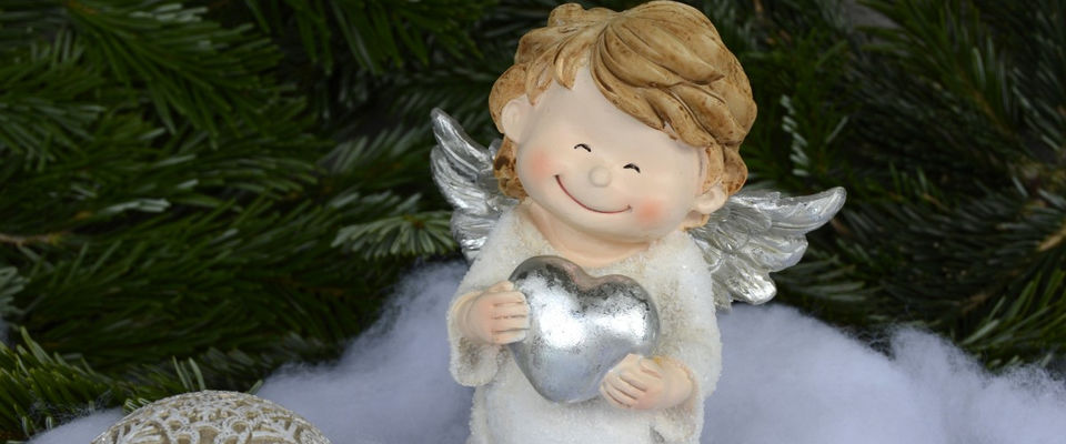 Рождественская ёлка ангела в Томске