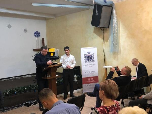 Епископ Алексей Новиков посетил Новороссийск с пасторским визитом