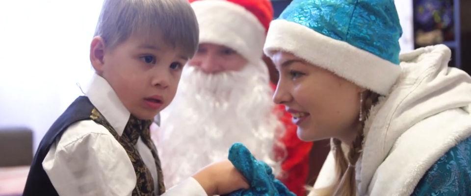 Церковь «Миссия Благая Весть» поздравила особых детей с Новым годом