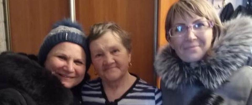 Христиане поздравили белогорских пенсионеров с Рождеством