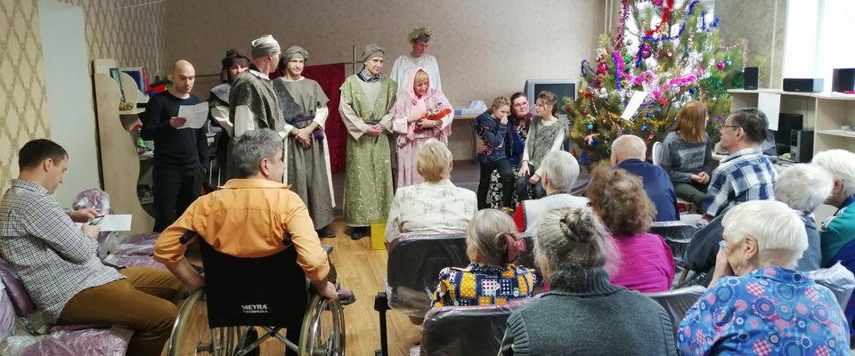 Челябинская церковь «Новая жизнь» провела два концерта для пожилых людей