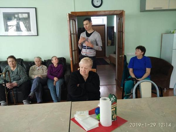 Московская церковь «Страна свободы» начала служение в доме престарелых