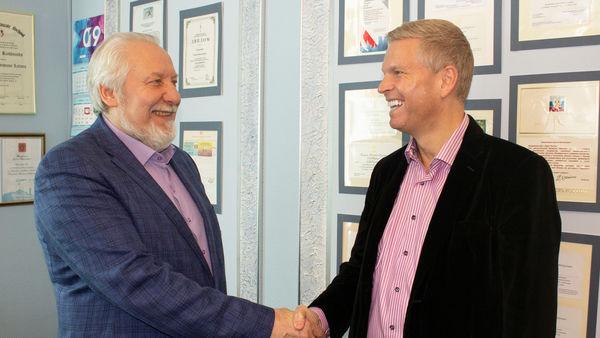 Начальствующий епископ РОСХВЕ встретился с лидером движения «Европа будет спасена»