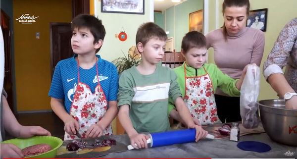 Христиане Петербурга посетили детский дом