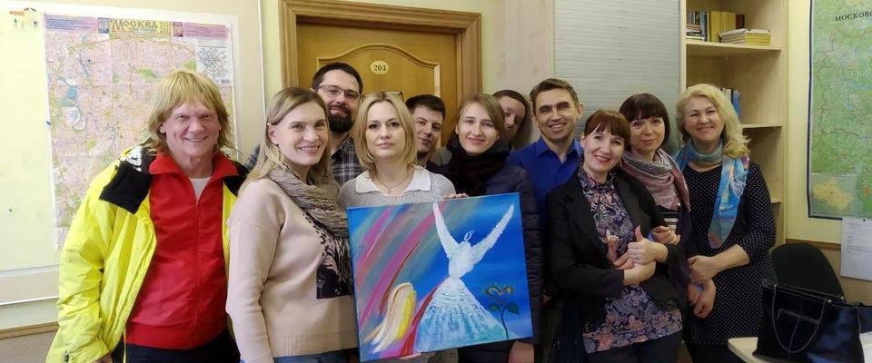 Волонтёры церкви Божией в Царицыно провели праздник для детей в центре гематологии
