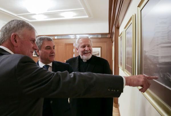 Франклин Грэм поблагодарил епископа Сергея Ряховского