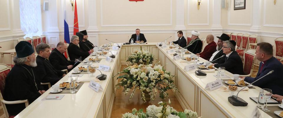 Епископ Дмитрий Шатров принял участие во встрече с ВРИО Губернатора Санкт-Петербурга