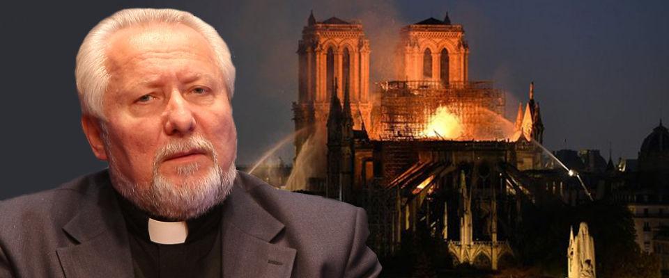 Епископ Сергей Ряховский: Пожар не может уничтожить Церковь