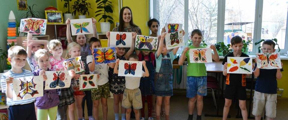 ЦПГИ «Вместе» провели мастер-класс для детей в социальном центре
