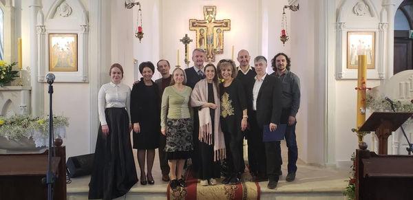 Межконфессиональные Пасхальные евангельские чтения во Владимире