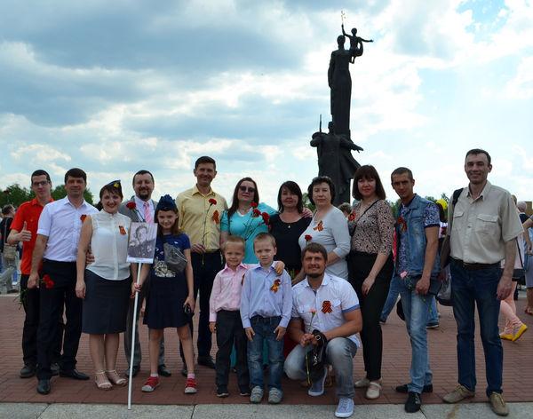 Пензенские христиане возложили цветы к Монументу воинской и трудовой славы