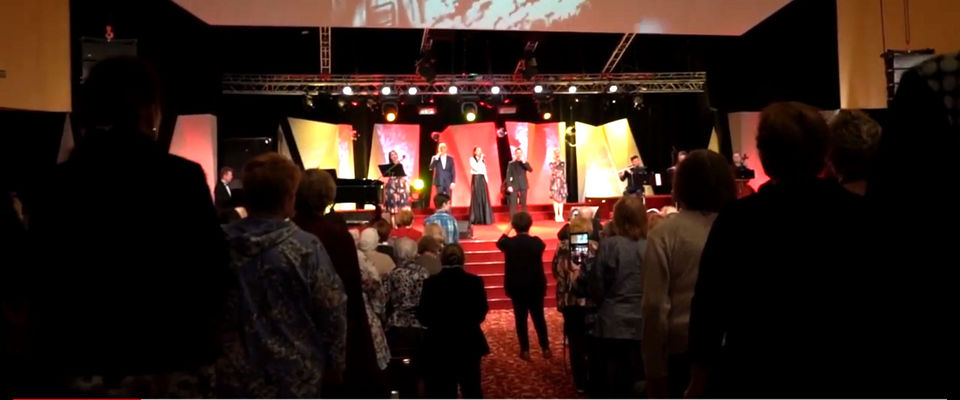 Концерт, посвящённый Дню Победы, прошёл в церкви «Благая весть»