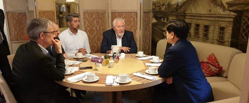 Развивается сотрудничество РОСХВЕ и корейской церкви «Йоыдо»
