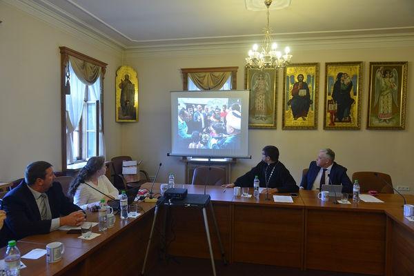 Российские верующие продолжают восстанавливать школу в Сирии