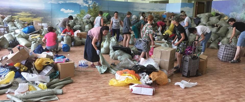 Евангельские христиане помогают пострадавшим в Иркутской области