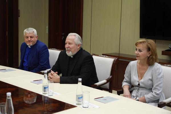 Епископ Сергей Ряховский встретился с врио главы Башкирии Радием Хабировым