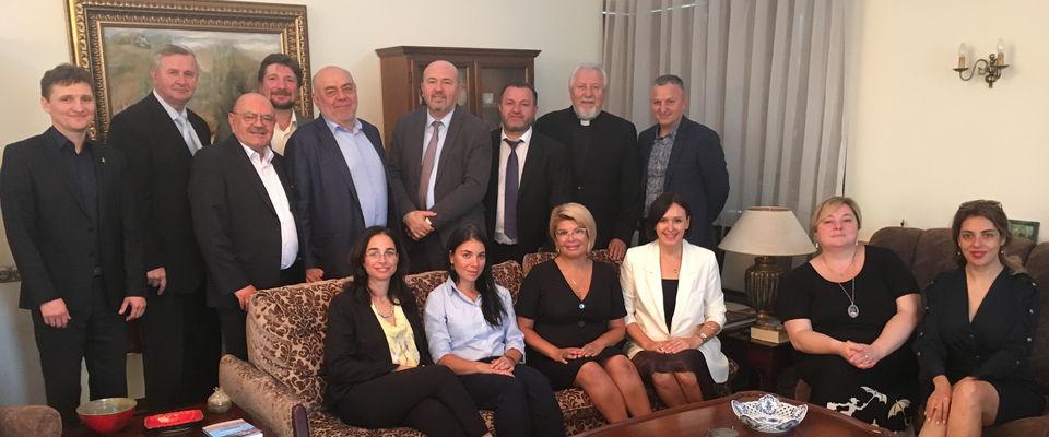 Посол Израиля встретился со служителями евангельских церквей