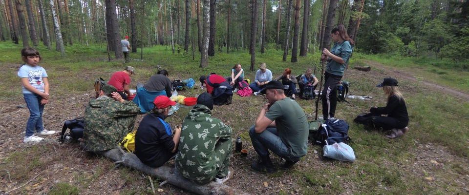Экологический поход организовали «Царские охотники» Владимира