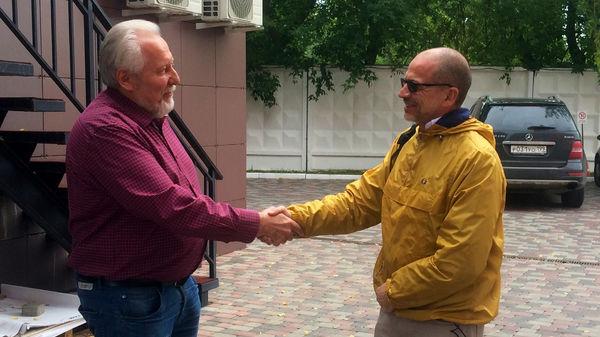Епископ Сергей Ряховский дал интервью швейцарскому телевидению
