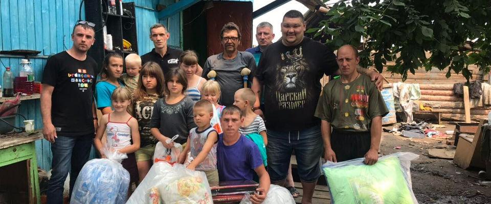 Церковь ХЦ «Завет» помогает пострадавшим от наводнения в Тулуне